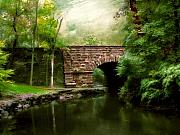 Stone Bridge Prints - Old Country Bridge Print by Jessica Jenney