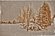 Park Scene Digital Art - Old Country Christmas by Dan Stone