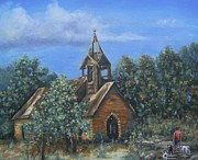Pamela Humbargar - Old Country Church
