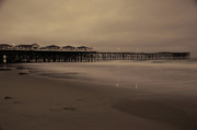 Pier Photos - Old Crystal Pier  by Kelly Wade