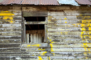 Log Cabin Photos - Old Dilapidated Window by Matt Tilghman
