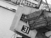 Bristol Photo Originals - Old Dock Crane by David Plummer