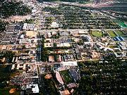 Norfolk; Prints - Old Dominion Campus Aerial Print by Old Dominion University
