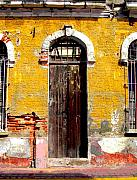 Old Door 2 By Darian Day Print by Olden Mexico