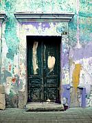 Gypsies Prints - Old Door 4 by Darian Day Print by Olden Mexico