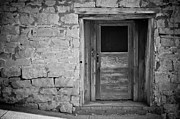 Tennessee Barn Digital Art Posters - Old Door Poster by Paul Bartoszek