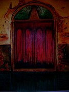 Old Door Pastels - Old Door by Saeed Ghassemlou