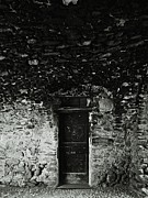 Architectur Photos - Old door under the porch by Ettore Zani