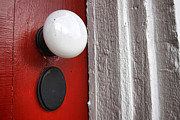 Entrance Door Photos - Old Doorknob by Olivier Le Queinec