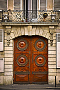 Entrance Door Prints - Old doors Print by Elena Elisseeva