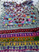 Dresses Tapestries - Textiles - Old Dresses by Dinesh Rathi