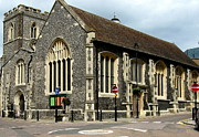 St Margaret Photos - Old English Church Uxbridge UK by Lynne Dymond