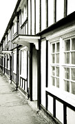 Neighbours Framed Prints - Old english houses Framed Print by Tom Gowanlock