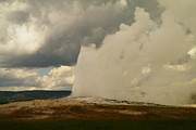 Geysers Photos - Old Faithful by Jeff  Swan