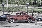 Antique Automobiles Photos - Old Faithful by Trish Tritz