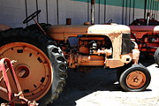 Old Tractors Photos - Old Farm Tractor . 5D16602 by Wingsdomain Art and Photography