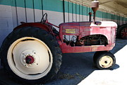 Old Tractors Photos - Old Farm Tractor . 5D16604 by Wingsdomain Art and Photography
