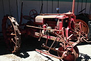 Old Tractors Photos - Old Farm Tractor . 5D16609 by Wingsdomain Art and Photography