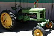 Old Farm Tractor . 5d16614 Print by Wingsdomain Art and Photography