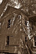 Morgan County Prints - Old Farmhouse in Summertime Print by Douglas Barnett