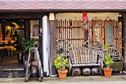 Front Porch Prints - Old-Fashioned Japanese Restaurant Print by Jeremy Woodhouse