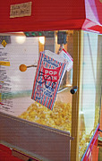 Serve Digital Art Prints - Old-Fashioned Popcorn Machine Print by Steve Ohlsen