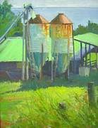 Robert Weiss - Old Feed Bins in Honomu