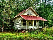 Abandoned Housese Photos - Old Florida VI by Julie Dant