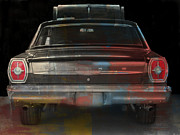 Tail Lights Photos - Old Ford Color Splash by Brenda Conrad