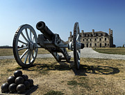 Grinding Prints - Old Fort Niagara Print by Peter Chilelli