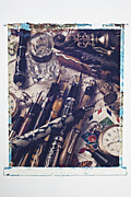 Write Prints - Old Fountain Pens Print by Garry Gay