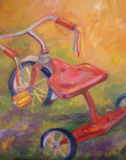 Tricycle Prints - Old Friend Print by Marty Husted