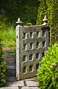 Architektur Metal Prints - Old Garden Entrance Metal Print by Heiko Koehrer-Wagner