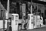 Hackberry General Store Posters - Old gas pumps Poster by Hideaki Sakurai