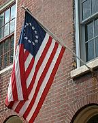 Philadelphia Photo Prints - Old Glory - Philadelphia Print by Frank Mari