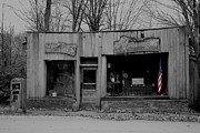 Historic Country Store Prints - Old Glory Print by Alan Look