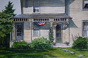 Old Glory Paintings - Old Glory by Bill Dinkins
