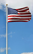 Flagpole Photos - Old Glory by Kristin Elmquist
