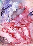 Patriotic Painting Originals - Old Glory by Roger Parnow