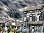 Grain Mill Prints - Old Grain Mill Print by Scott Hovind
