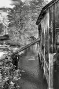 Old Grist Mill Print by Joann Vitali