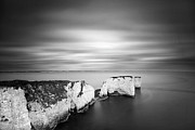 Geography Art - Old Harry Rocks by Chris Conway