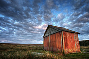 Barn Photos - Old Hay Barn by Martin Williams