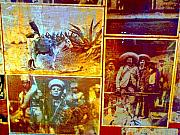 Michael Metal Prints - Old Heroes by Michael Fitzpatrick Metal Print by Olden Mexico