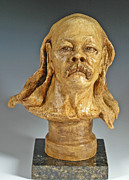Figurative Sculpture Prints - Old Hippie Print by Eduardo Gomez