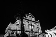 Streetlight Photos - old historic street light and Newry Town Hall  by Joe Fox