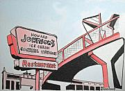 Amusements Prints - Old HoJos  Print by Patricia Arroyo