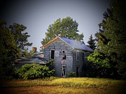 Old Houses Metal Prints - Old Home in Indiana Metal Print by Joyce  Kimble Smith