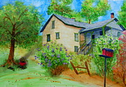 Old Home Place Prints - Old Home Place Print by Diane Toro