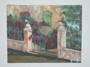 Wall Art Drawings - Old House - SOLD by Gladis Sagi
